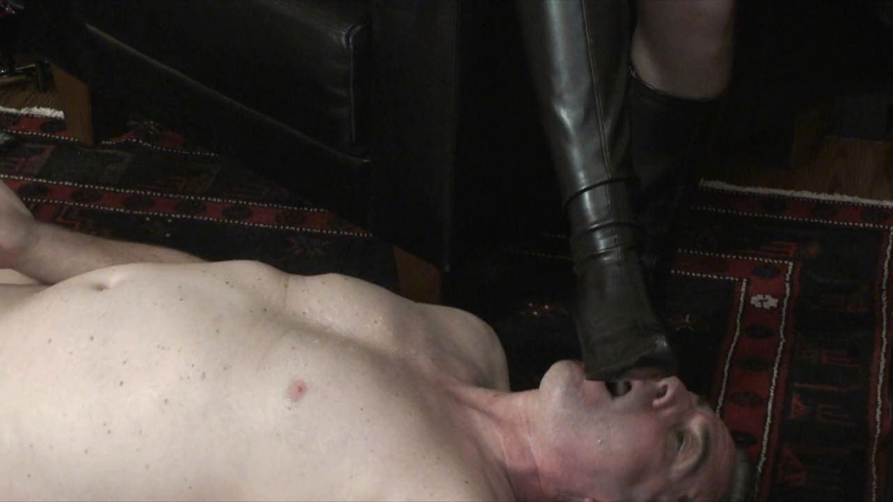 Slavedrill In Leather - ABSOLUTE-FEMDOM - HD/720p/MP4
