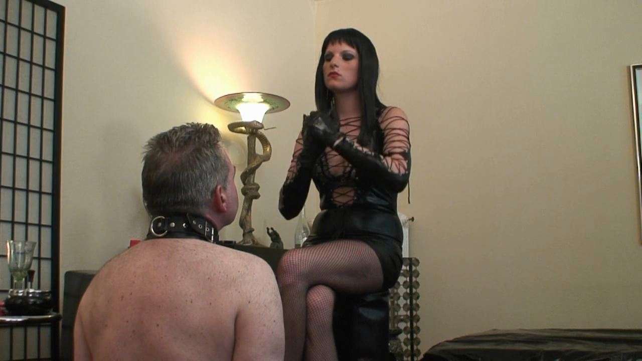 Face Slapping the Human Ashtray 1 - ABSOLUTE-FEMDOM - HD/720p/MP4