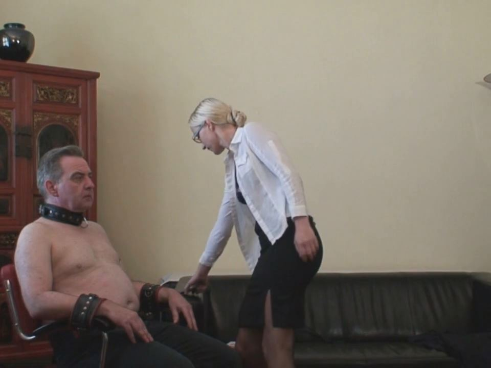 The Strict Office (Whole video) - ABSOLUTE-FEMDOM - HD/720p/MP4