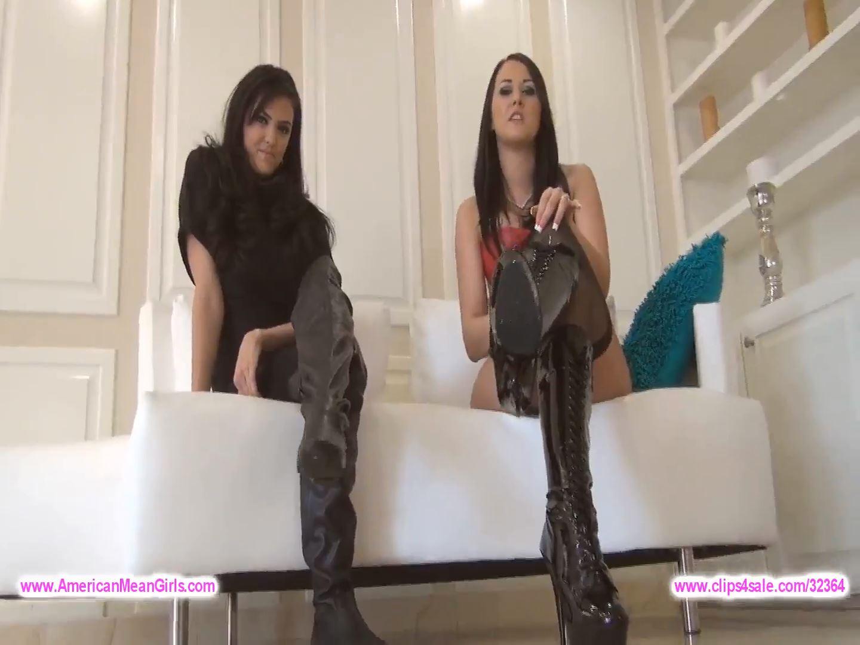Goddess Alexis Explains Footslaves to Queen Farah - AMERICAN MEAN GIRLS / MIAMI MEAN GIRLS - FULL HD/1080p/MP4