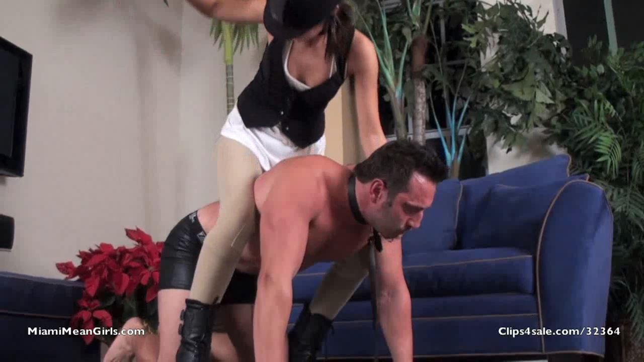 Princess Mya's First SLAVE PONY RIDE - AMERICAN MEAN GIRLS / MIAMI MEAN GIRLS - HD/720p/MP4