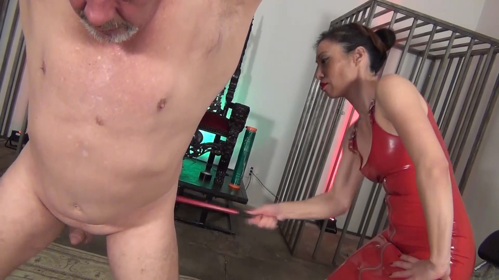 Goddess Peppe In Scene: PERFECTLY RED - ASIAN CRUELTY - FULL HD/1080p/MP4