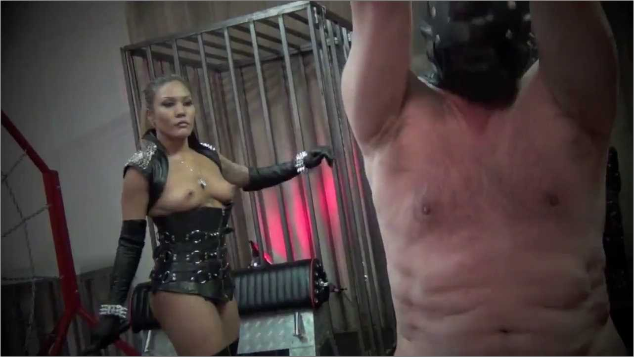 Goddess Mena In Scene: PAIN EQUALS POWER - ASIAN CRUELTY - HD/720p/MP4
