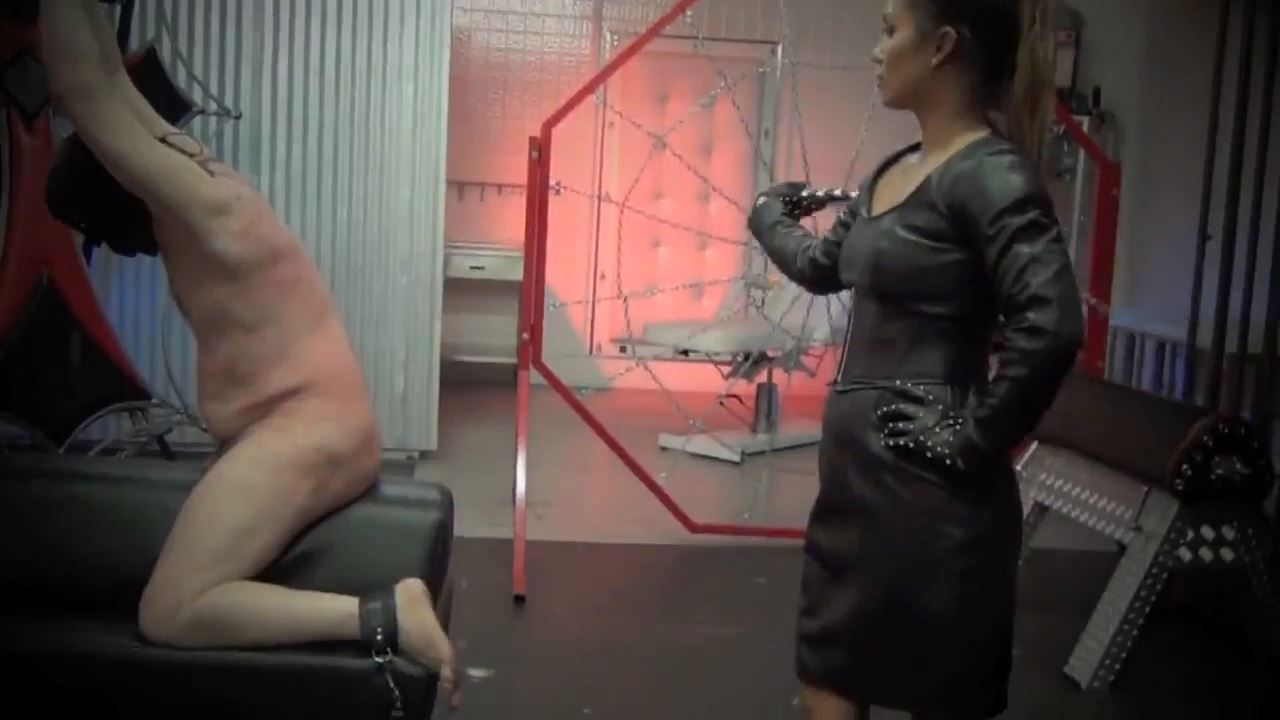 Goddess Lana In Scene: LEATHER CLAD PAIN AND PERFECTION PART 2 - ASIAN CRUELTY - HD/720p/MP4
