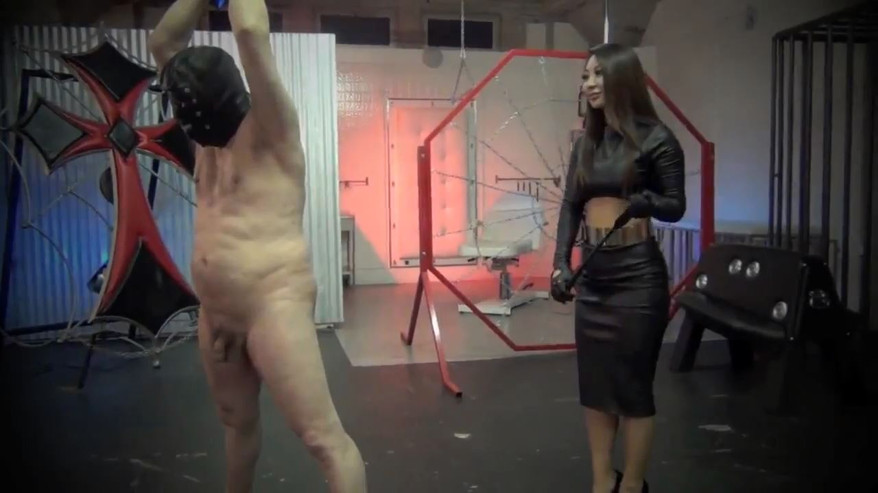 Queen Darla In Scene: LEATHER CLAD REIGN OF TERROR - ASIAN CRUELTY - HD/720p/MP4