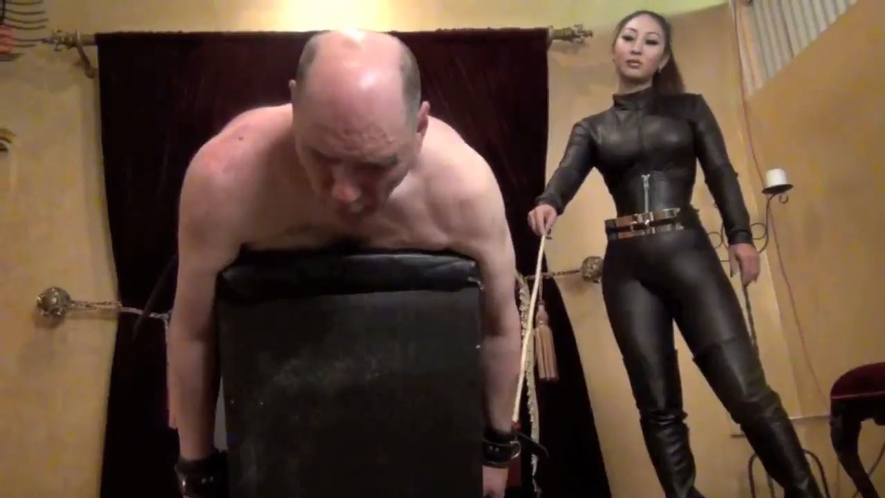 Queen Darla In Scene: A CRUEL LEATHER GODDESS PART 2 - ASIAN CRUELTY - HD/720p/MP4