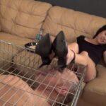 Goddess Saya In Scene: CAGED SHOE LICKER – ASIAN MEAN GIRLS – HD/720p/MP4