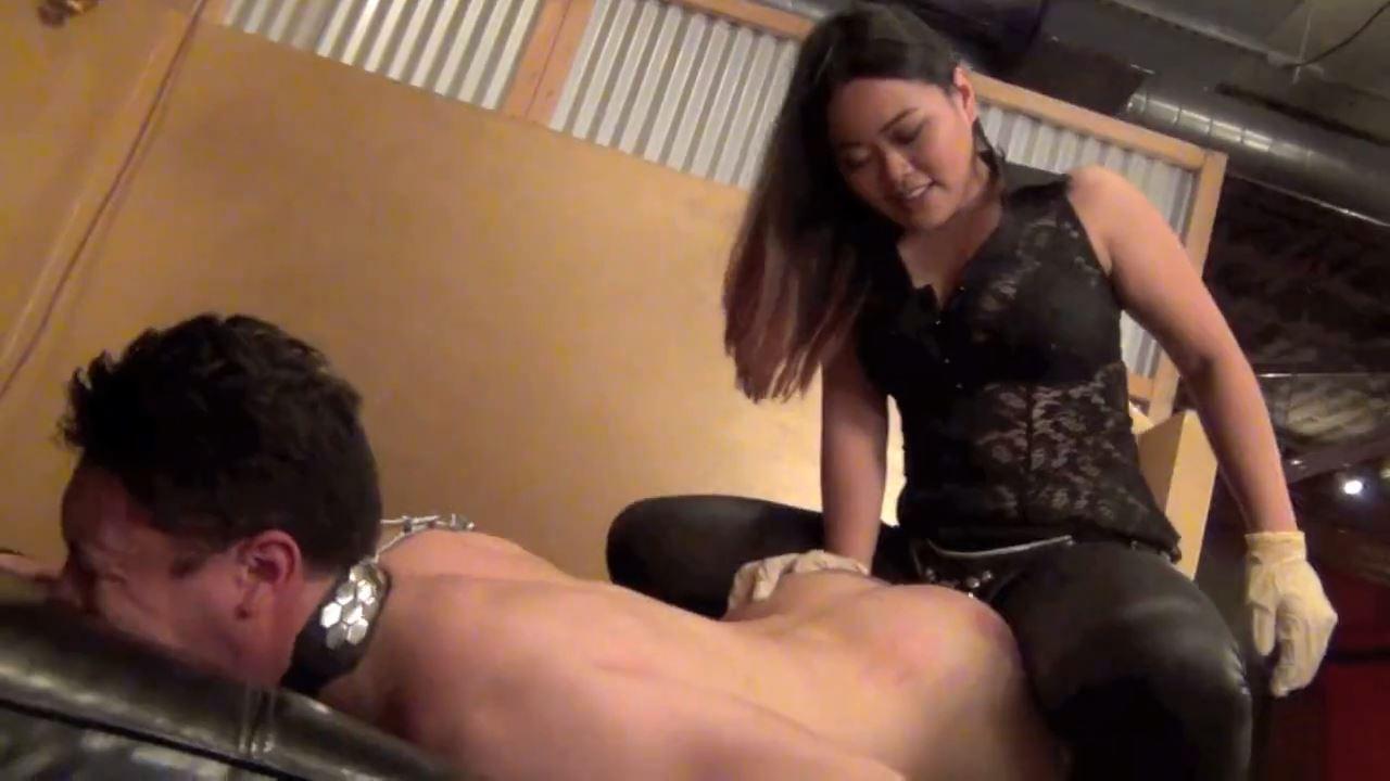 AstroDomina In Scene: I'VE GOT YOU PEGGED - ASIAN MEAN GIRLS - HD/720p/MP4