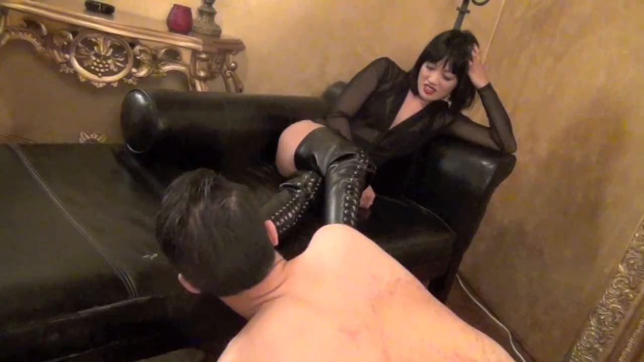 Goddess Miki In Scene: HELPLESS BOOT BOY - ASIAN MEAN GIRLS - HD/720p/MP4