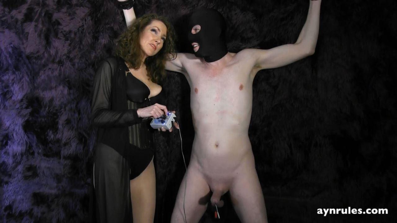 Mistress Ayn In Scene: Electrical Interrogation Video - AYN RULES - HD/720p/MP4