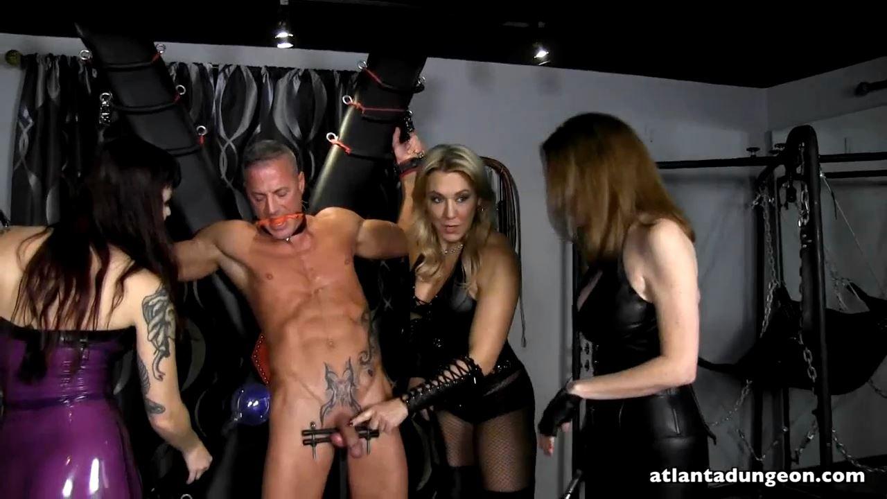 Goddess Samantha, Mistress Ayn, Mistress Ultra Violet In Scene: Shocking Stud Slave - AYN RULES - HD/720p/MP4