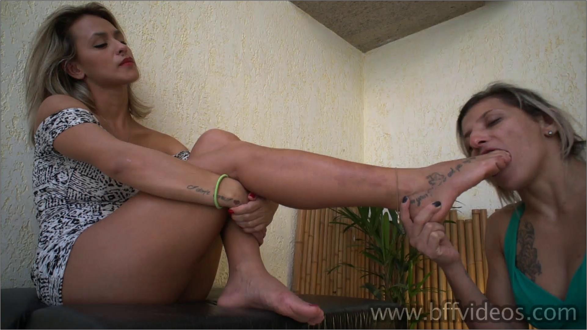 Taty First Time Under Olivia Sweaty Feet Part 3 - BFFVIDEOS / BRAZIL FETISH FILMS - FULL HD/1080p/MP4