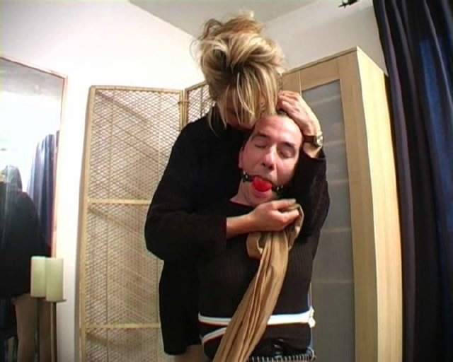 Lady Renee In Scene: CHAIRTIED BY LADY VIVIAN - BONDISHBOYS - SD/576p/WMV