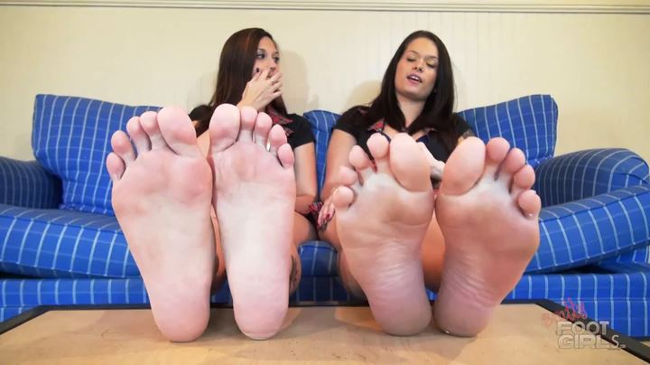 Maria Marley, Ayla Aysel In Scene: Freak For Out Feet - BRATTY FOOT GIRLS - SD/404p/MP4