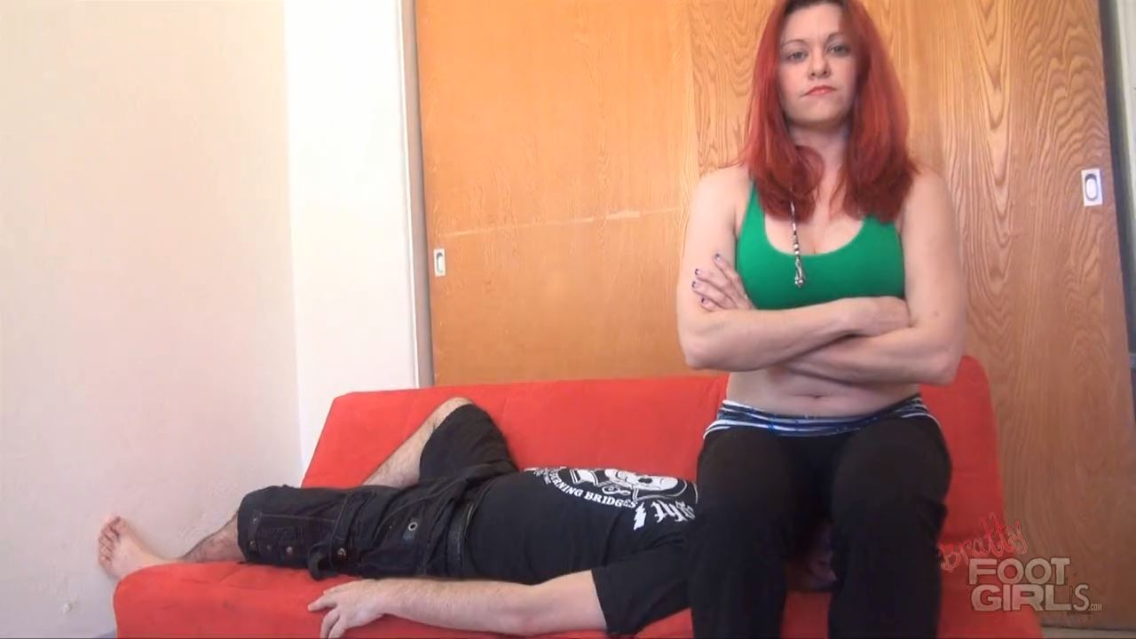 Catherine's Full Weight Yoga Pants Smother - BRATTY FOOT GIRLS - HD/720p/MP4