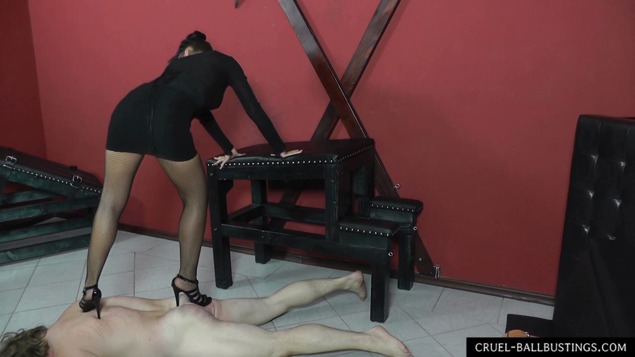You're my worst student - CRUEL-BALLBUSTING - HD/720p/MP4