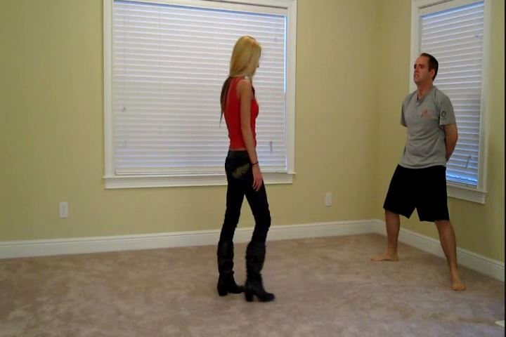 Miss Love In Scene: Ballbusting in Boots - CRUDELIS AMATOR BALLBUSTING FETISH - SD/480p/MP4