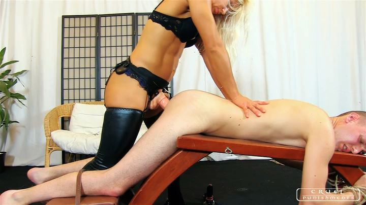 Lady Zita In Scene: Young slave's humilation Part 2 - CRUEL PUNISHMENTS - SEVERE FEMDOM - SD/404p/MP4