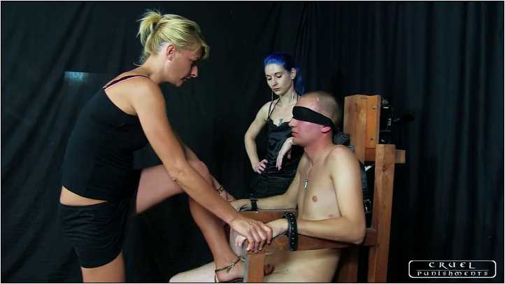 Lady Bonnie, Lady Suzy In Scene: Painful Interrogation Part 1 - CRUEL PUNISHMENTS - SEVERE FEMDOM - SD/404p/MP4