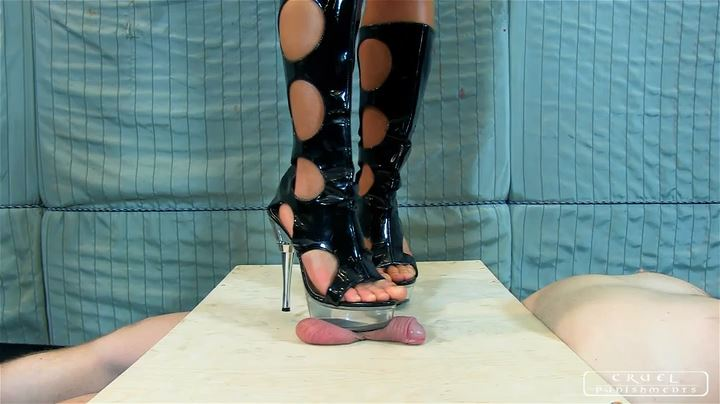 Lady Zita's mischievous feet Part 3 - CRUEL PUNISHMENTS - SEVERE FEMDOM - SD/404p/MP4