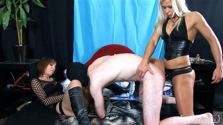 Lady Zita, Lady Nina In Scene: Double caning and a little game Part 3 - CRUEL PUNISHMENTS - SEVERE FEMDOM - SD/404p/MP4