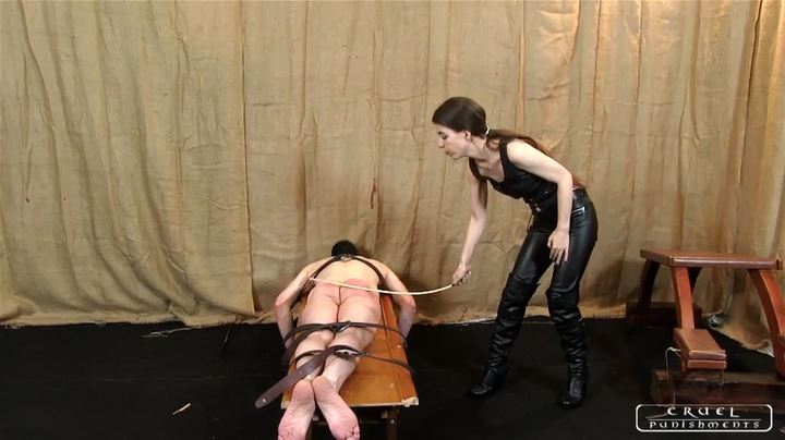 Mistress Victoria In Scene: An ass punished in two ways Part 1 - CRUEL PUNISHMENTS - SEVERE FEMDOM - SD/404p/MP4