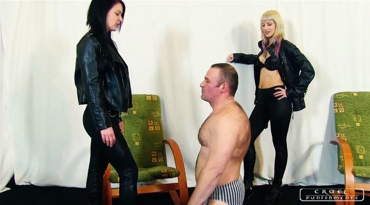 Lady Suzy, Lady Margo In Scene: Revenge on the waster slave Part 1 - CRUEL PUNISHMENTS - SEVERE FEMDOM - LQ/SD/400p/MP4