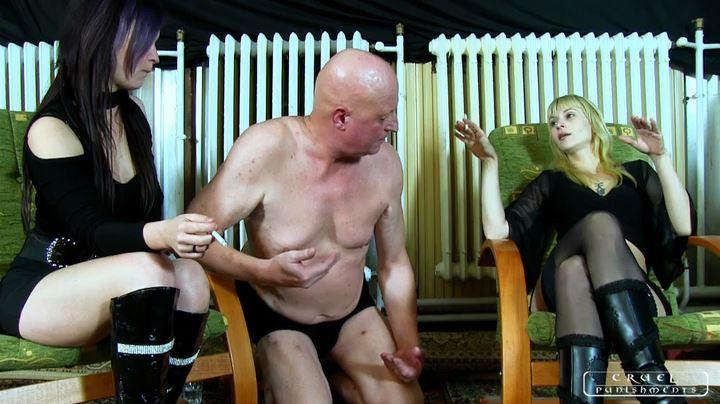 Mistress Margo, Mistress Suzy In Scene: The swabber slave Part 5 - CRUEL PUNISHMENTS - SEVERE FEMDOM - SD/404p/MP4