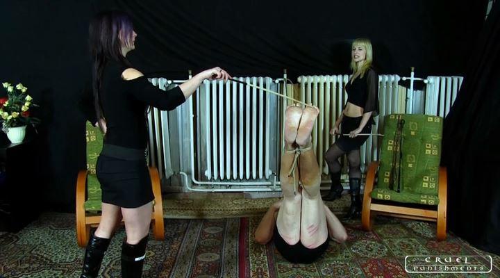 Mistress Margo, Mistress Suzy In Scene: The swabber slave Part 4 - CRUEL PUNISHMENTS - SEVERE FEMDOM - LQ/SD/400p/MP4