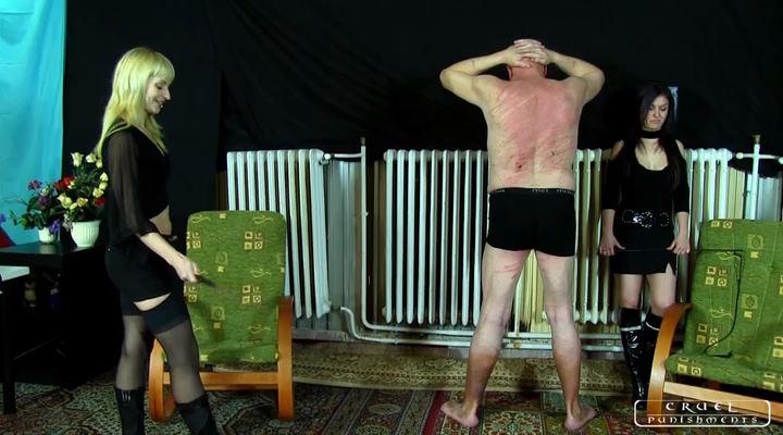 Mistress Margo, Mistress Suzy In Scene: The swabber slave Part 3 - CRUEL PUNISHMENTS - SEVERE FEMDOM - LQ/SD/400p/MP4