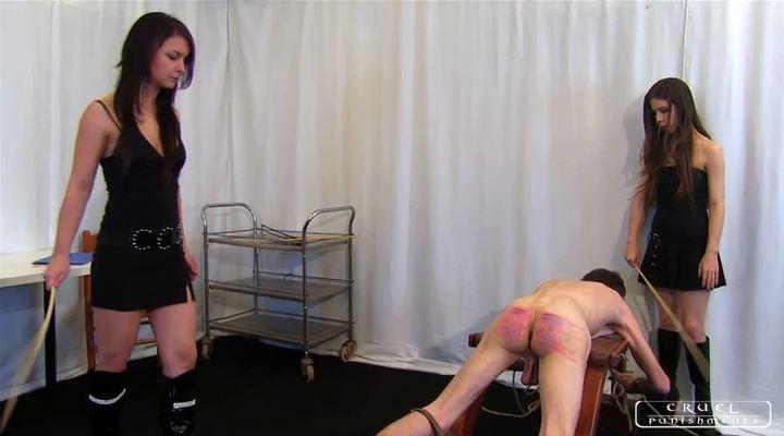 Mistress Margo In Scene: Punishment Institution III Part 1 - CRUEL PUNISHMENTS - SEVERE FEMDOM - LQ/SD/400p/MP4