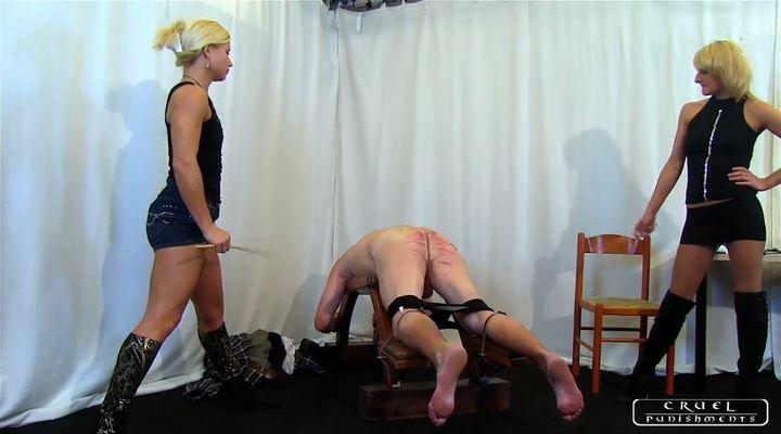 Lady Zita, Lady Bonnie In Scene: Punishment Institution II Part 1 - CRUEL PUNISHMENTS - SEVERE FEMDOM - LQ/SD/400p/MP4