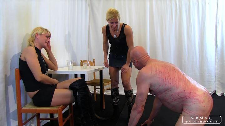 Lady Zita, Lady Bonnie In Scene: Punishment Institution II Part 4 - CRUEL PUNISHMENTS - SEVERE FEMDOM - SD/404p/MP4