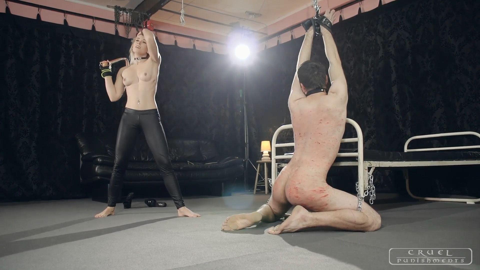 Mistress Anette In Scene: Anette's powerful session Part 2 - CRUEL PUNISHMENTS - SEVERE FEMDOM - FULL HD/1080p/MP4