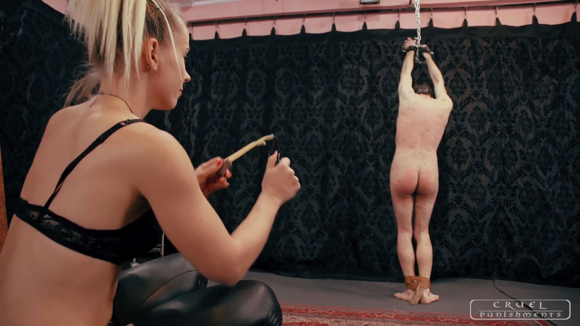 Mistress Anette In Scene: Various painful punishments Part 3 - CRUEL PUNISHMENTS - SEVERE FEMDOM - FULL HD/1080p/MP4