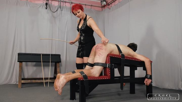 Mistress Maggie In Scene: Serious pain Part 1 - CRUEL PUNISHMENTS - SEVERE FEMDOM - SD/406p/MP4