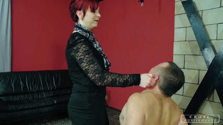 Lady Maggie In Scene: Face smacks - CRUEL PUNISHMENTS - SEVERE FEMDOM - SD/406p/MP4