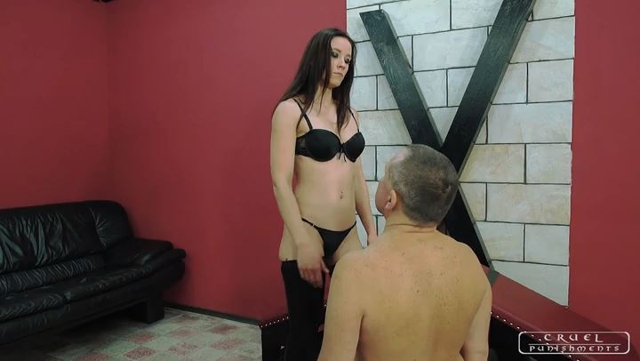 Goddess Anette - CRUEL PUNISHMENTS - SEVERE FEMDOM - SD/406p/MP4