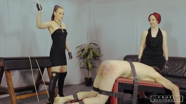 Mistress Maggie, Lady Anette In Scene: Three brutal punishments Part 1 - CRUEL PUNISHMENTS - SEVERE FEMDOM - SD/406p/MP4