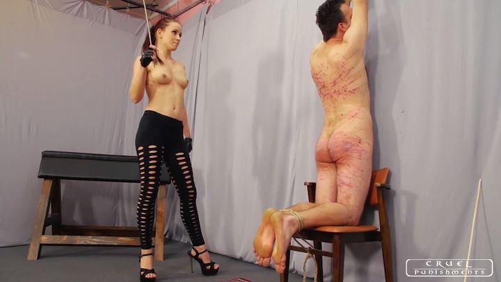 Lady Anette In Scene: Hard pain Part 3 - CRUEL PUNISHMENTS - SEVERE FEMDOM - SD/406p/MP4