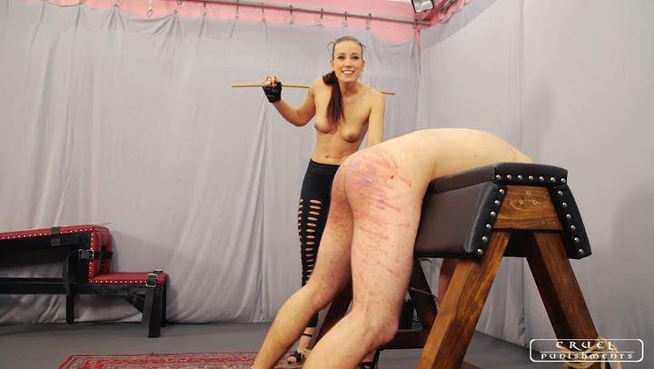 Lady Anette In Scene: Hard pain Part 1 - CRUEL PUNISHMENTS - SEVERE FEMDOM - SD/406p/MP4