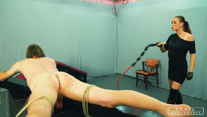 Lady Anette In Scene: Growing intensity Part 1 - CRUEL PUNISHMENTS - SEVERE FEMDOM - SD/406p/MP4