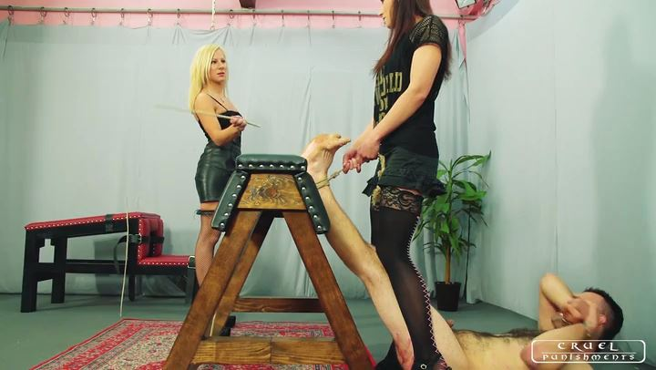 Lady Foxy In Scene: Sado Ladies Part 3 - CRUEL PUNISHMENTS - SEVERE FEMDOM - SD/406p/MP4
