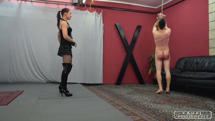 Lady Anette In Scene: Uncomfortable and painful part2 - CRUEL PUNISHMENTS - SEVERE FEMDOM - SD/406p/MP4