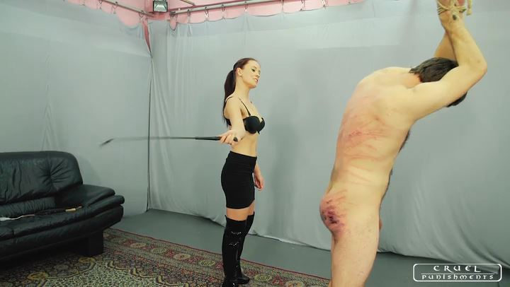 Lady Anette In Scene: Cruel Punishments Without Mercy part2 - CRUEL PUNISHMENTS - SEVERE FEMDOM - SD/406p/MP4