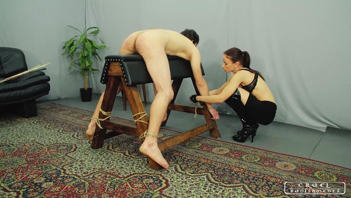 Lady Anette In Scene: Cruel Punishments Without Mercy part1 - CRUEL PUNISHMENTS - SEVERE FEMDOM - SD/406p/MP4