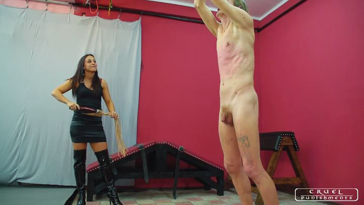 Lady Sophie In Scene: Four steps of the torment part3 - CRUEL PUNISHMENTS - SEVERE FEMDOM - SD/406p/MP4