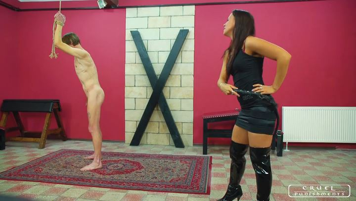 Lady Sophie In Scene: Four steps of the torment part2 - CRUEL PUNISHMENTS - SEVERE FEMDOM - SD/406p/MP4