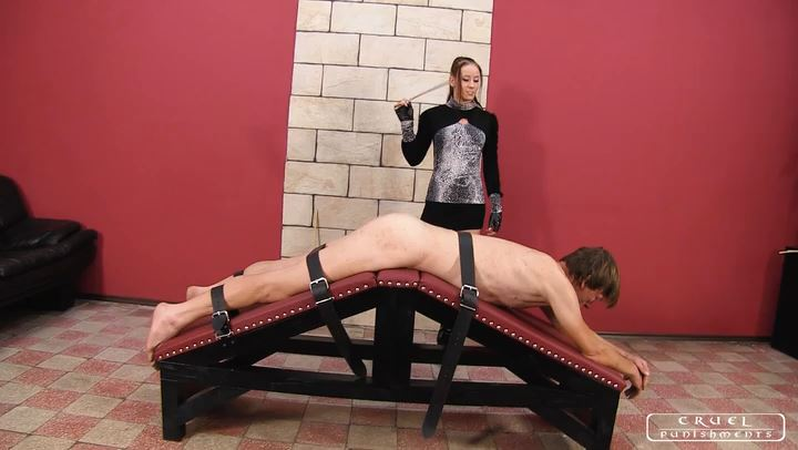 Lady Anette In Scene: Furious Lady Anette part1 - CRUEL PUNISHMENTS - SEVERE FEMDOM - SD/406p/MP4