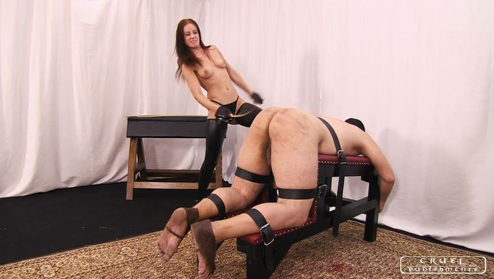 Lady Anette In Scene: Brutality with Anette part1 - CRUEL PUNISHMENTS - SEVERE FEMDOM - SD/406p/MP4